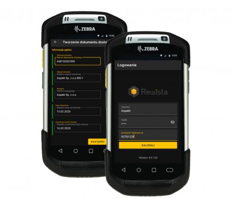 Rewista Track&Trace mobile